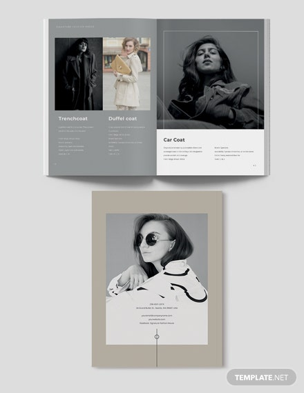 Sample Modern Fashion Lookbook