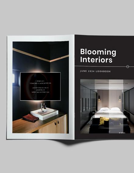 Sample Modern Interior Design Lookbook