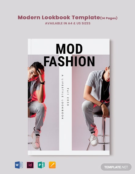 Free Modern Lookbook Template