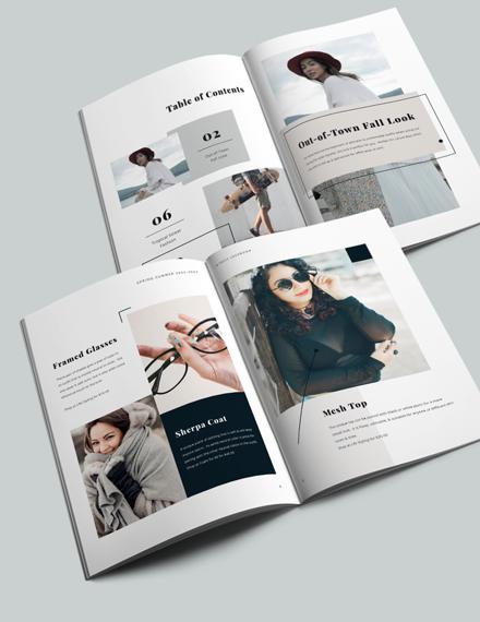 Modern Photography Lookbook Template