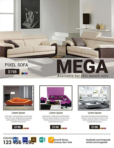 Sofa Mega Sale Template