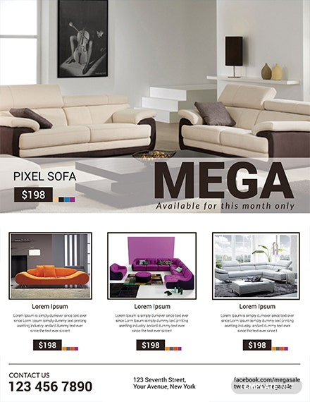 Free Sofa Mega Sale Template