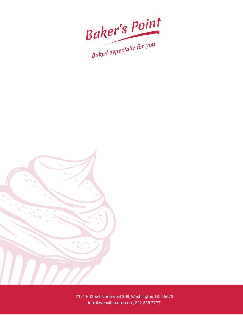 Bakery Letterhead Template.jpe