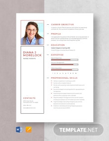 Nurse Midwife Resume Template