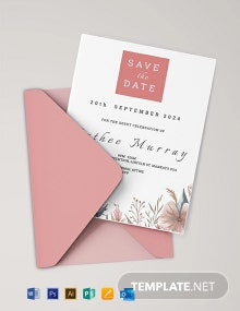 Free Sample Debut Invitation Card