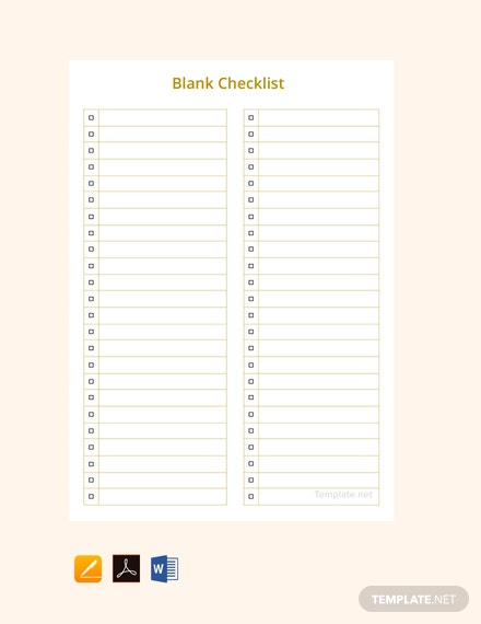 Smart image regarding pages checklist template