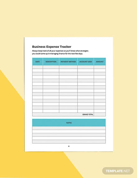 Virtual Assistant Business Planner Template Example