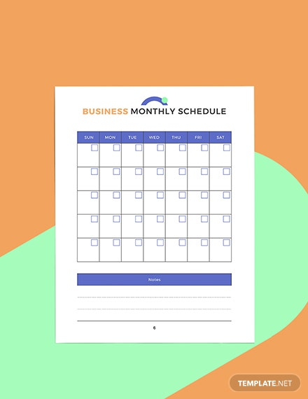 Editable Digital Business Planner