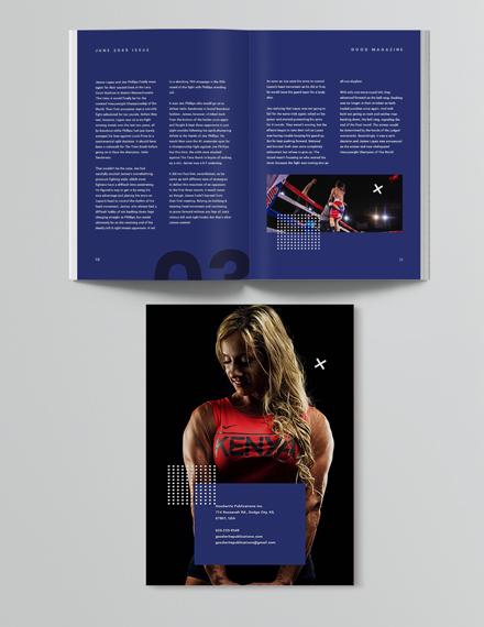 Sample Creative Sports Magazine