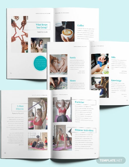 Lifestyle Magazine Layout Download