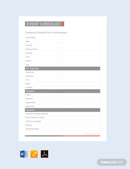 20 Free Checklist Templates In Google Docs Template Net