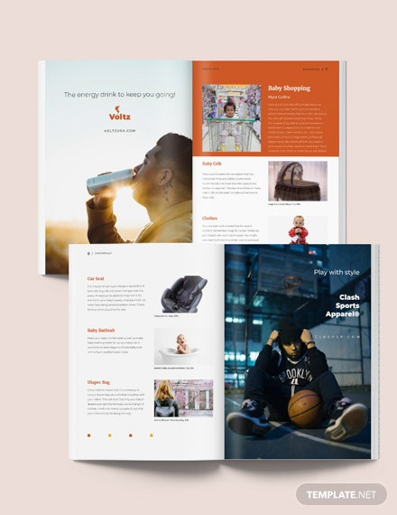 Product Magazine Layout Download