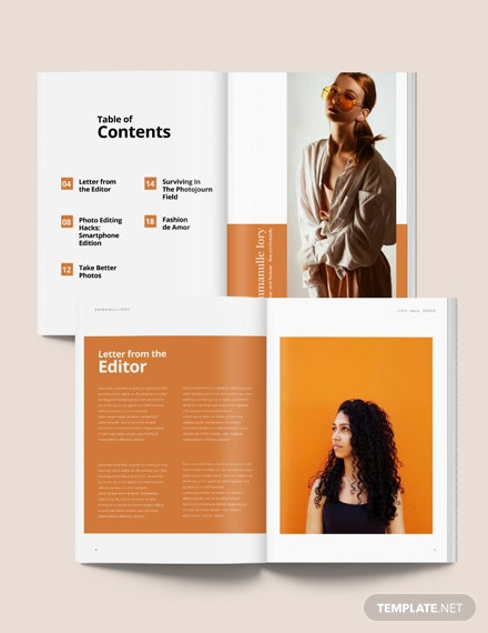 Product Photography Magazine Template