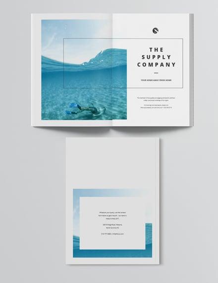 Sample Simple Travel Magazine