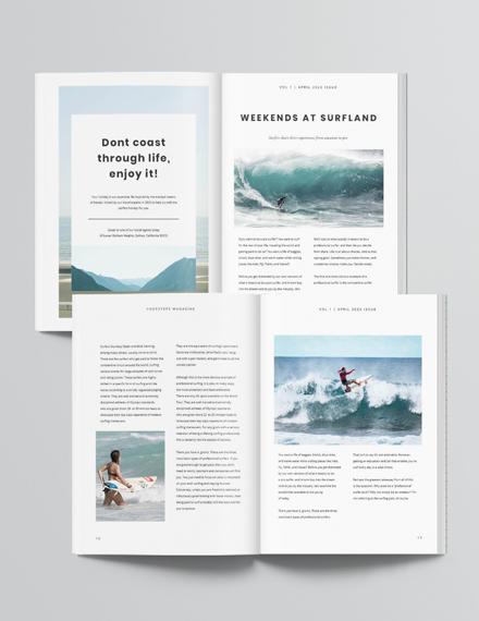 Simple Travel Magazine Download