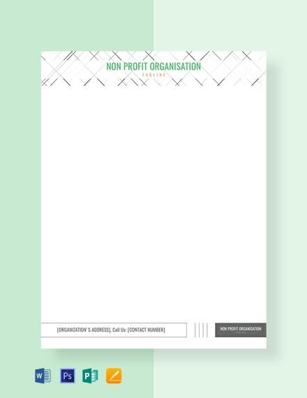 Free Non-profit Organization Letterhead Template