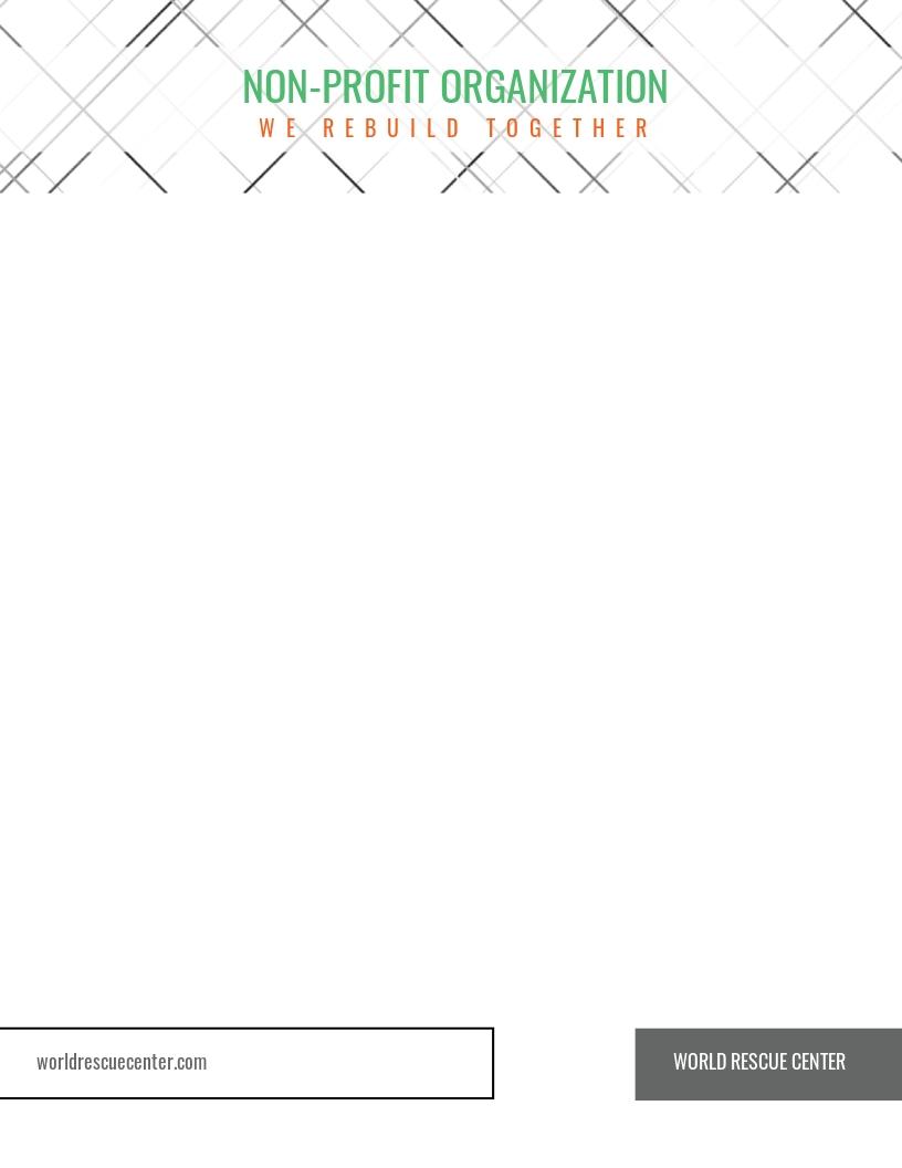 Non profit Organization Letterhead Template.jpe