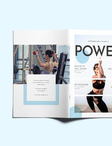 Sample Womens Health Magazine