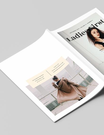 Sample Womens Lifestyle Magazine
