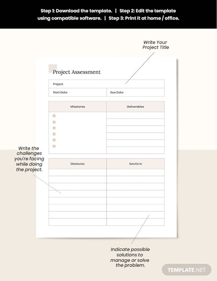 Simple Project Planner Assessment