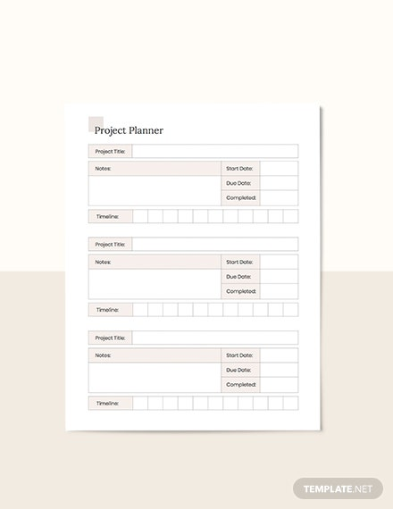 Simple Project Planner Guide
