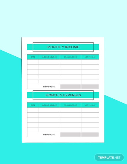 Monthly Digital Planner Example