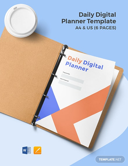 Daily Digital Planner Template