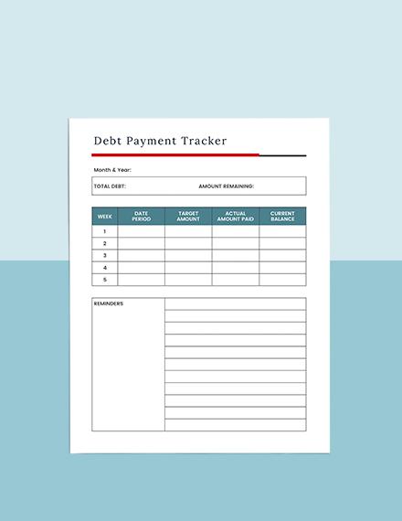Debt Avalanche Planner Download