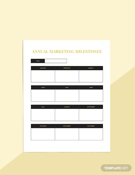 Hotel marketing Planner Editable