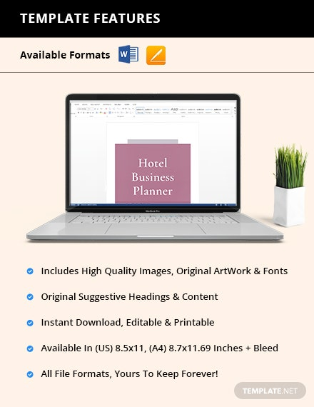 Hotel Business planner Manual