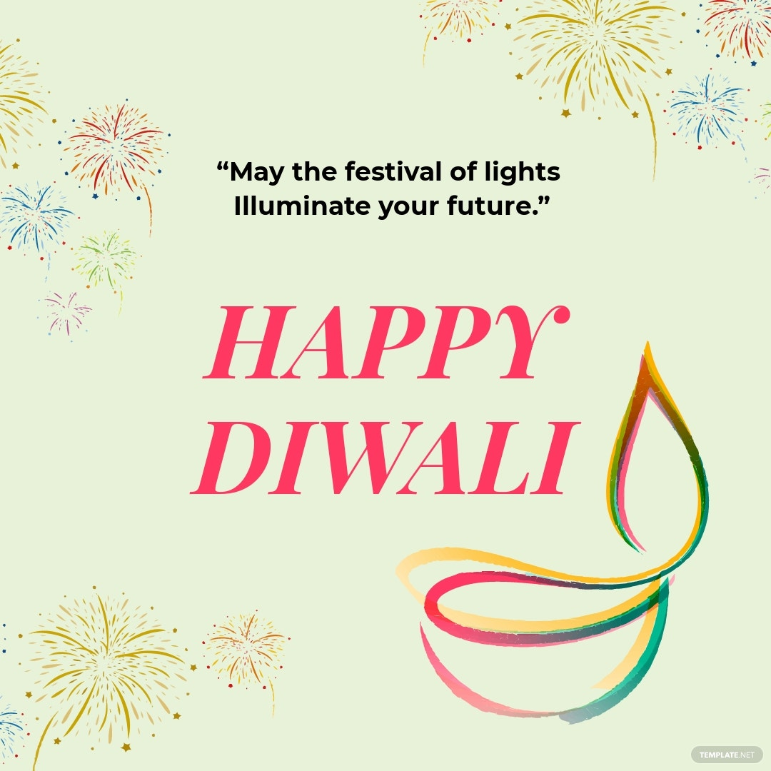 Free Happy Diwali Instagram Post Template.jpe
