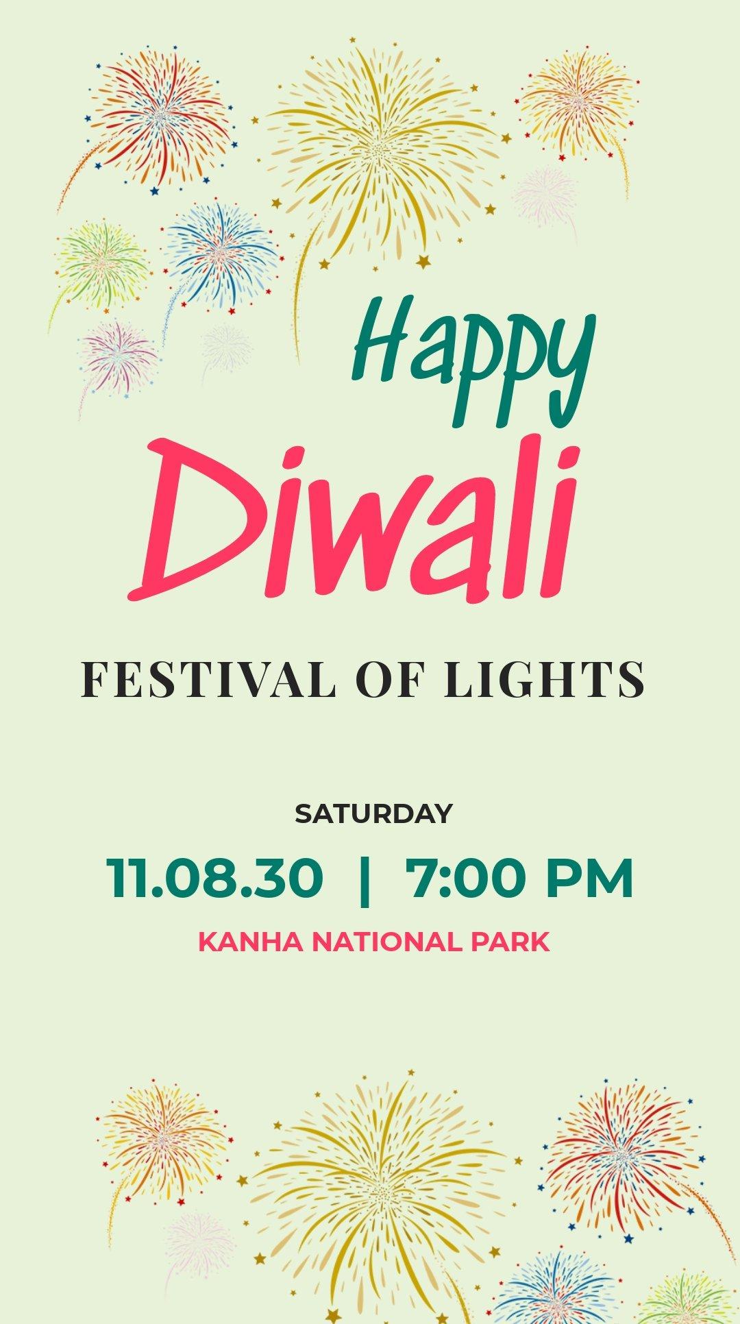 Free Happy Diwali Instagram Story Template.jpe