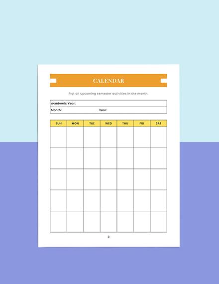 Homework Education Planner Download