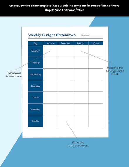 Monthly Debt Planner Printable