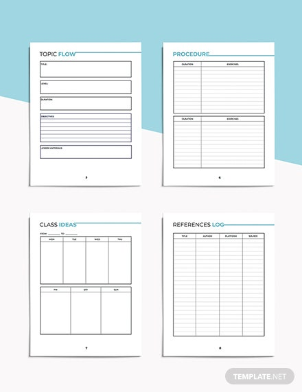 English Education Planner Download