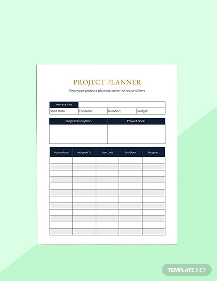 Semester Education Planner Format