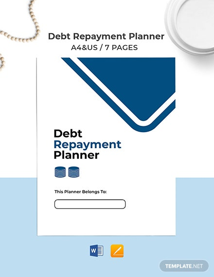 Debt Repayment Planner Template