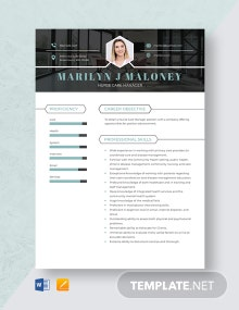 Nurse Care Manager Resume Template