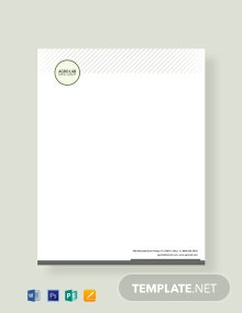 Free Agriculture Letterhead Template