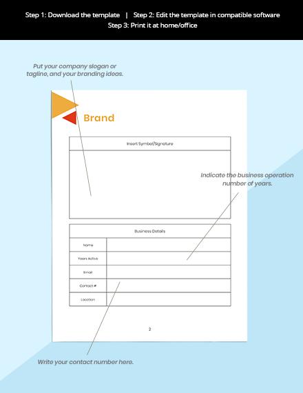 Editorial Media Planner Sample Instruction