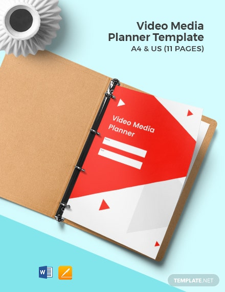 Video Media Planner Template