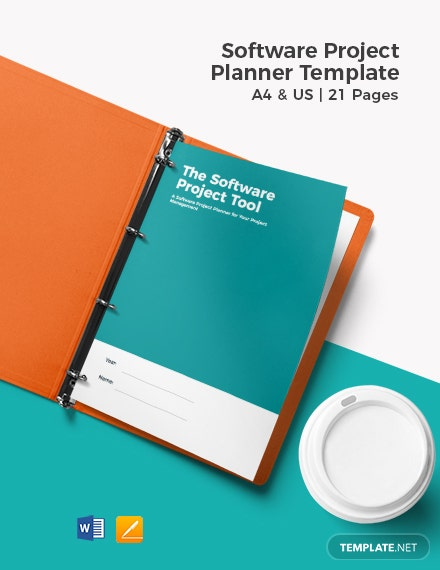 Software Project Planner Template