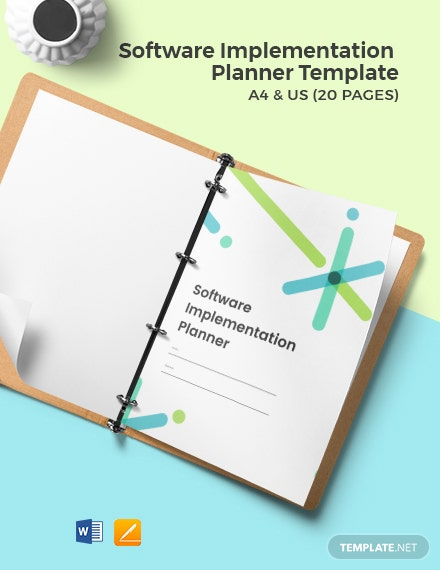 Software Implementation Planner Template
