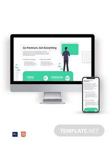 Creative Pricing Page Template