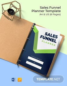 Sales Funnel Planner Template