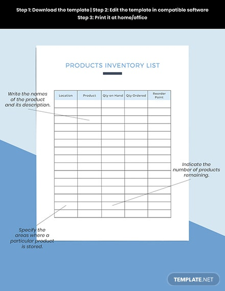 Monthly sales Planner Example