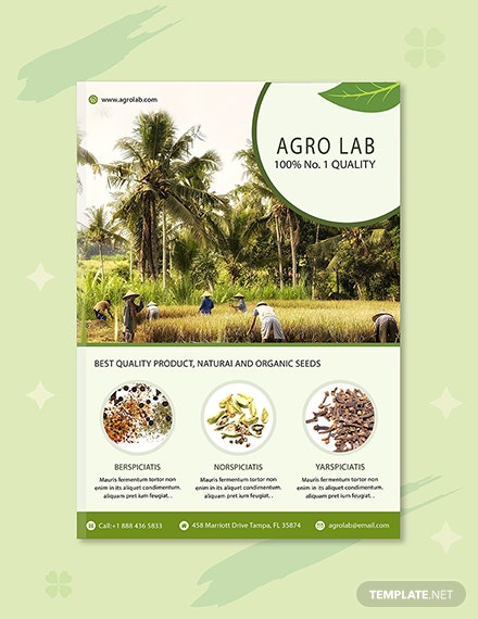 Agriculture eBook Cover Template
