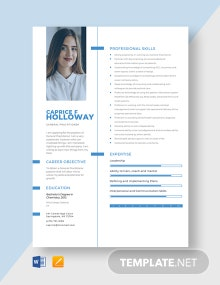 General Practitioner Resume Template