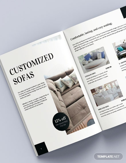 Sample Furniture Catalog