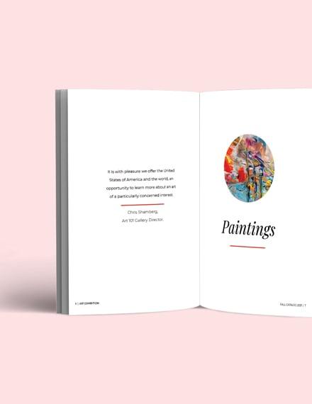 Art Exhibition Catalogue Download